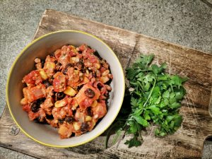 Image of The Turkey Chilli with Fresh Coriander
