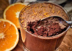 Chocolate Mousse using Aquafaba as the base