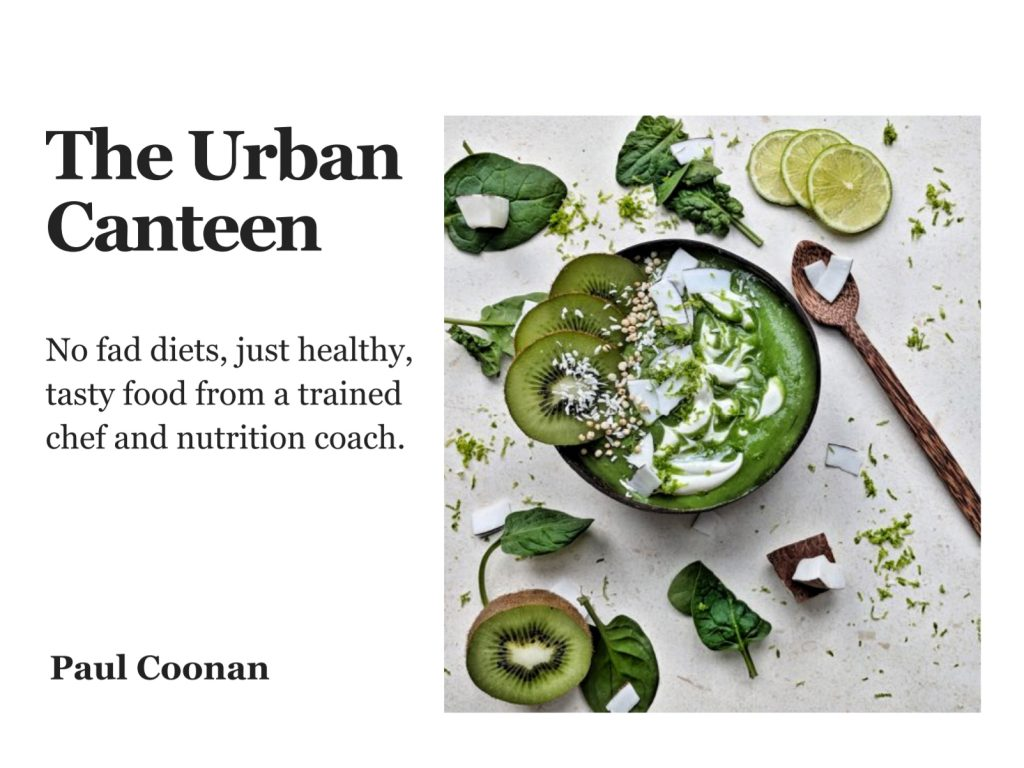 The cover of The Urban Canteen ebook